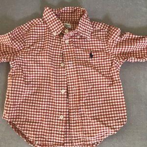 Ralph Lauren 9-12 months baby Dress Shirt